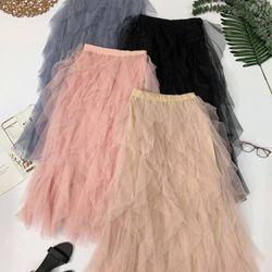 Chân váy lưới bèo nhiều lớp Chất lưới mịn đẹp nhiều lớp tạo độ phồng chuẩn đẹp luôn giá sỉ
