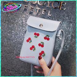 Túi đeo chéo đeo vai nữ thời trang đựng điện thoại dọc hình Sori K2 Shalla giá sỉ