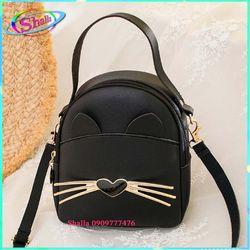 Balo thời trang mini Hình râu mèo FE47 Shalla giá sỉ, giá bán buôn