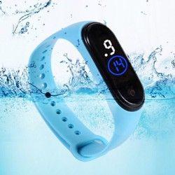 Đồng hồ thể thao unisex đèn led dây silicon chống nước tốt mẫu mới hot giá sỉ