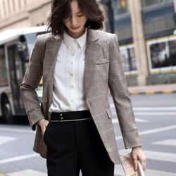 Áo vest cao cấp caro hàng sẵn giá sỉ