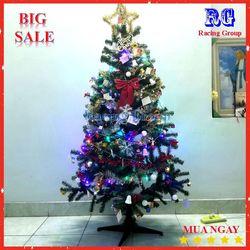 Cây thông trang trí Giáng Sinh có đầy đủ phụ kiện - 1m5 giá sỉ