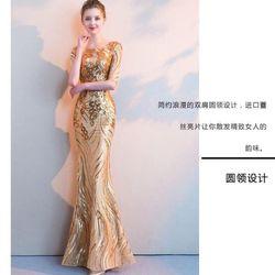 Đầm dạ hội đuôi cá body giá sỉ