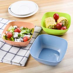 Bát nhựa vuông đựng salad giá sỉ