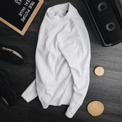 Áo thun nam dài tay cực chất màu trắng giá sỉ