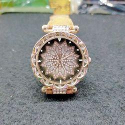 Đồng hồ dây da hoa xoàn Đơn hàng không đi Cod 100 - chuyển khoản hoặc cọc tiền hàng nhận đc hàng đi giá sỉ, giá bán buôn