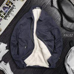 Áo khoác nam lót lông cao cấp giá sỉ