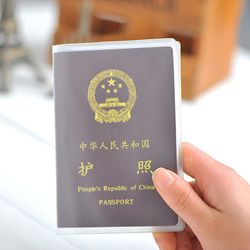 Bao Passport 3 ngăn nhựa trong dẻo loại dày giá sỉ