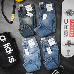 Quần jeans nam trơn topman giá sỉ