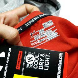 Áo cotton hai chiều TC UNDER ARMOUR - xưởng may quần áo thể thao giá xưởng BIG SPORT giá sỉ