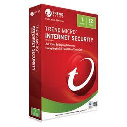 Phần mềm diệt virus Trend Micro Internet Security – 1PC 1năm