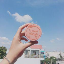 Bộ 3 món trang điểm phấn phủ má hồng cọ XiXi peach NoD-354 giá sỉ