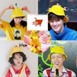 Mũ Mầm Maruko 3D Rộng Vành Nhiều Kiểu Mầm Cây Bucket Hat Ulzzang Kaki Nhung Siêu Cute giá sỉ