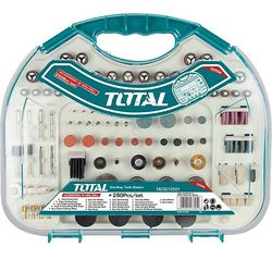 Bộ linh kiện khoan mài mini 250 chi tiết Total TACSD12501 ĐỒNG GIÁ 342K