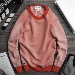 áo len nam thêu cá sấu cực dày dặn màu đỏ giá sỉ