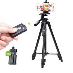 CHÍNH HÃNG Tripod Chụp Ảnh Cao Cấp YUNTENG 5208 Dành Cho Máy Ảnh DSLR Điện Thoại Action Camera giá sỉ
