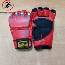 Găng tay đấm boxing hở ngón MMA Wolon giá sỉ