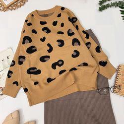 Set Áo len form rộng váy len xẻ Mua 1 được 2 giá sỉ