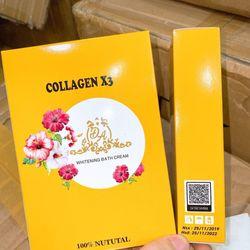 Tắm trắng collagen x3