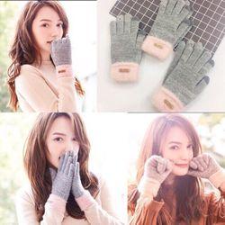Găng tay len nũcảm ứng điện thoạilen lông cừu giá sỉ
