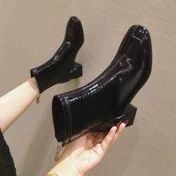 Giày bốt da cao cấp giá sỉ
