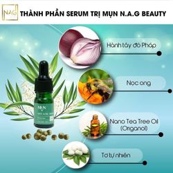 Trị Mụn NAG BEAUTY ANTI ACNE SERUM