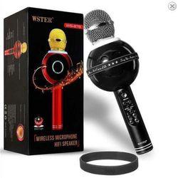 Mic karaoke mặt cười 878 giá sỉ