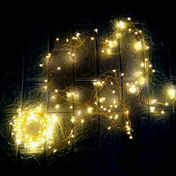 Dây đèn led rễ cây trang trí Noel tết
