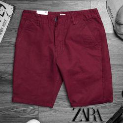 short kaki nam đơn giản nhưng cực chất màu đỏ giá sỉ