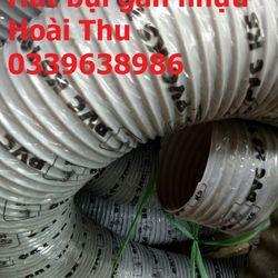 Ống hút bụi gân nhựa ống hút bụi công nghiệp ống gió Pu lõi thép giá sỉ