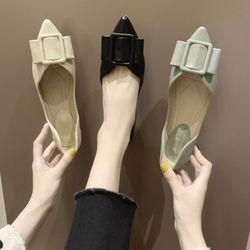 Giày búp bê khoá vuông giá sỉ