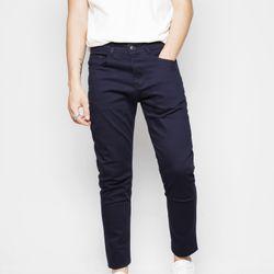 Quần dài kaki nam may theo form quần jean màu xanh đen giá sỉ