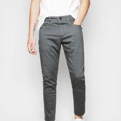Quần dài kaki nam may theo form quần jean màu ghi giá sỉ