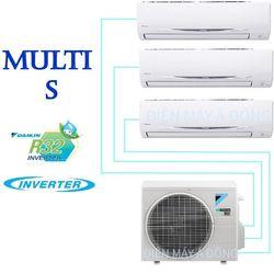 Dàn nóng Daikin Multi S MKC70SVMV - 1 dàn nóng kết nối 3 dàn lạnh