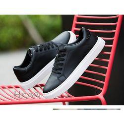 Giày sneaker nam Giày thể thao nam phối màu đen trắng cực hot giá sỉ