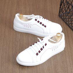 Giày sneaker nam giày nam new trắng tinh khôi giá sỉ