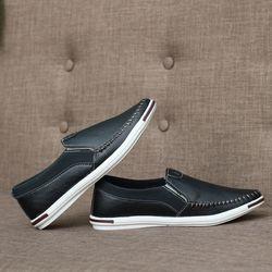 Giày lười nam Giày mọi nam Giày lười vải nam cao cấp phong cách Châu Âu giá sỉ