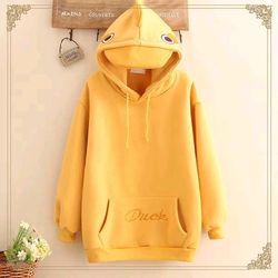 Áo hoodie mỏ vịt giá sỉ
