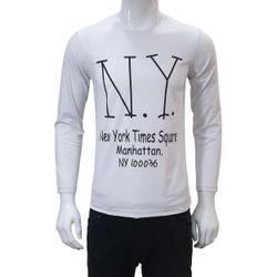 Áo thun nam tay dài NY AKL004 giá sỉ