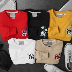 Áo nỉ nam sweater NY MLB Hàn quốc giá sỉ
