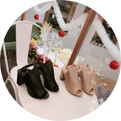 Giày boot gót vuông cực chất giá sỉ