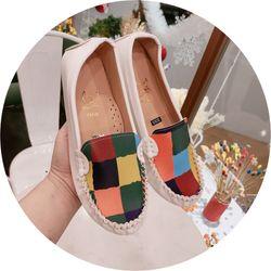 Giày mọi pha màu cực xinh giá sỉ