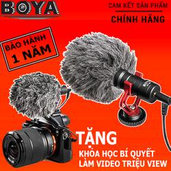 SỈ LẺ MICRO BOYA BY-MM1 Thu âm cao cấp cho máy ảnh DSLR action camera và điện thoại giá sỉ