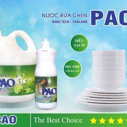 Nước rửa chén Pao nanotech - Thailand giá sỉ