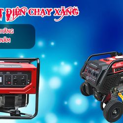Địa chỉ bán máy phát điện chạy xăng cho dự án tại Bình Thuận giá sỉ