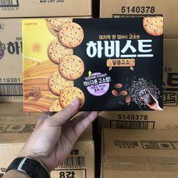 Bánh Hàn Quốc - Bánh Quy Hạnh Nhân Vị Vừng LOTTE 300g giá sỉ
