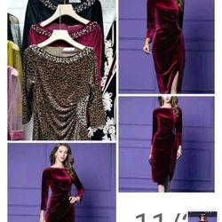 Váy nhung đính ngọc trai cao cấp giá sỉ