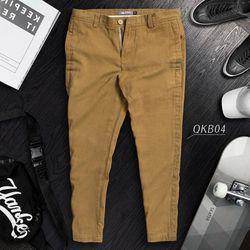 Quần kaki nam quần dài nam giả bò 4 màu cao cấp giá sỉ