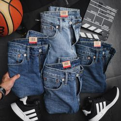 Quần jeans nam leviss 529 trơn
