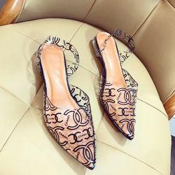 Giày sandal bít gót trong cao cấp giá sỉ